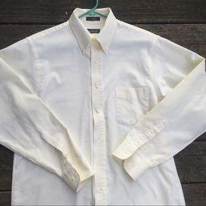 Arrow Mens 16 34/35 Button Down Oxford Dress Shirt